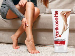 Varikosette leg cream, ingredientes - como aplicar?