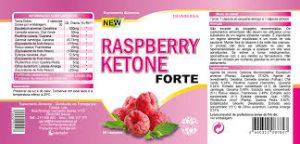 Raspberry Ketone Forte capsules, ingredientes - funciona?